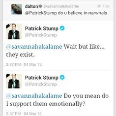 do you mean do  i support them emotionally?