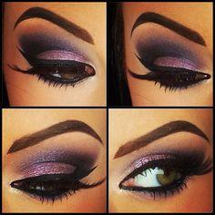Purple! I love this smokey eye