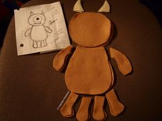 What the Craft – How to Make a Little Mikey Plushie From Monsters Inc. – Little Lazy Friends