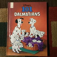 Disney's 101 Dalmatians - 1996 - Hardcover - Mouse Works by HECTORSVINTAGEVAULT on Etsy
