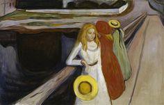 The Girls on the Bridge | Edvard Munch