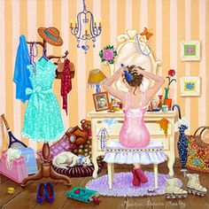 First Date by Maria Laura Bratoz - GINA Gallery of International Naive Art