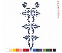 Výšivka Krásna nad Hornádom 12x27 cm Machine Embroidery, Drawings, Wood, Crafts, Decor, Art, Art Background, Manualidades, Decoration