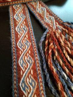 Inkle Weaving, Inkle Loom, Card Weaving, Weaving Techniques, Embroidery Techniques, Viking Knit, Viking Garb, Viking Dress, Tablet Weaving Patterns