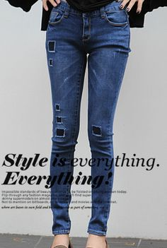 Today's Hot Pick :Patched Skinny Jeans http://fashionstylep.com/SFSELFAA0001465/happy745kren/out High quality Korean fashion direct from our design studio in South Korea! We offer competitive pricing and guaranteed quality products. If you have any questions about sizing feel free to contact us any time and we can provide detailed measurements.