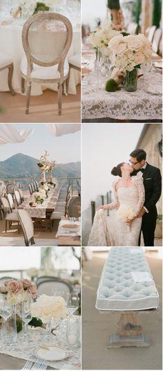 cream wedding