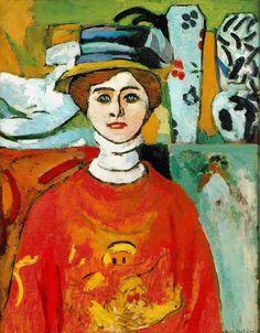 Girl with Green Eyes - Henri Matisse