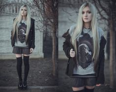#fashion -  #blonde,  #tumblr -  creepers