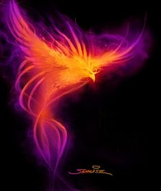 WoW Phoenix...could be an awesome tattoo