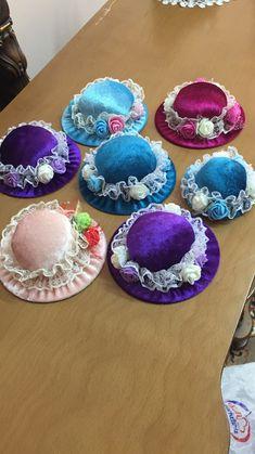 Şapka görünümünde iğnelikler☺️☺️