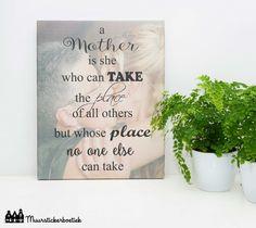 Tekst op canvas Moeder / moederdag (2)