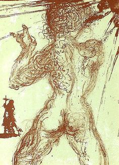 Salvador Dali, Male Nude
