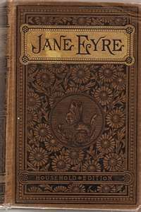another cool old book cover lacking its original source /// http://www.etsy.com/listing/53764606/vintage-jane-eyre-book-from-1886