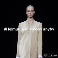 ▶ Helmut Lang #nyfw #mbfw - http://flipagram.com/f/s5EY4c4QgA