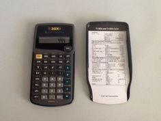 Texas Instruments TI-30XA Student Scientific Calculator  #TexasInstruments