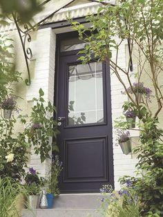 porte d'entrée maison | Cette porte d'entrée sur-mesure en aluminium à haute isolation ...