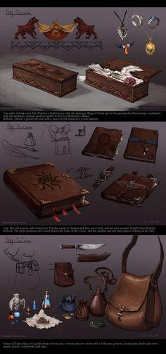 DA - Ilvy's Items by Darantha.deviantart.com on @DeviantArt