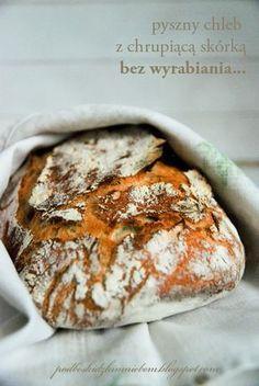 Pod beskidzkim niebem...: Chleb bez wyrabiania