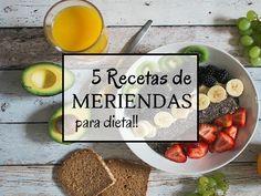 5 Meriendas para dieta