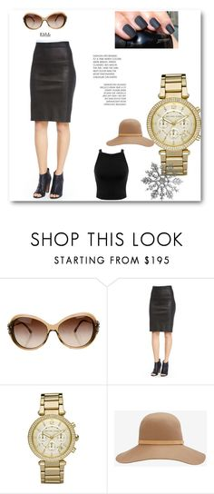 """""""Black"""" by dzenitabesic ❤ liked on Polyvore featuring Chanel, Vince, Michael Kors, rag & bone and Miss Selfridge"""