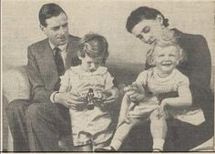 Their pride and joy.  Prince George and Princess Marina were devoted parents.