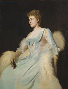 Tarbell, Edmund C. - Portrait of a Lady | American, 1862-1938