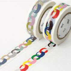 colorful chain tape