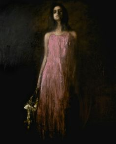 Garland, oil on canvas by Mark Demsteader