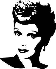 Lucille Ball Wall Art by LynchmobGraphics on Etsy