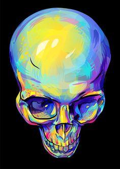 skull by Ramonova on DeviantArt Memento Mori, Illustrations, Illustration Art, Crane, Skeleton Art, Mandala, Human Skull, Skull Design, Skull And Bones