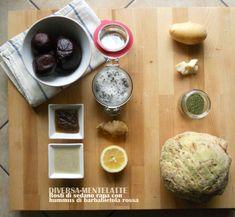 #Rosti di sedano rapa con #hummus di barbabietola... la ricetta è ora sul blog, buon inizio settimana a tutti!