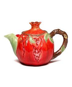 Pomegranate Teapot