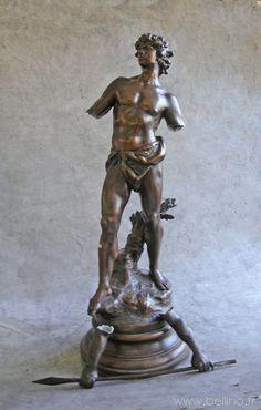 Restauration d'une sculpture en régule http://www.bellino.fr/blog/?p=858
