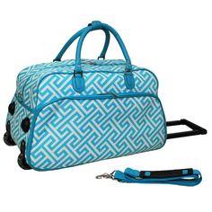 World Traveler 21 Inch Rolling Duffel Bag Review