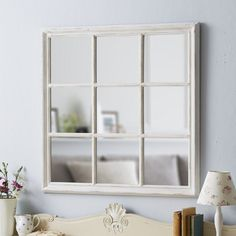 Live Laugh Love offer a lovely range of shabby chic mirrors. Purchase a shabby chic mirror to promote good feng shui in the home. Arched Window Mirror, Ornate Mirror, Vintage Mirrors, Window Wall, Mirrors Like Windows, Shabby Chic Spiegel, Shabby Chic Mirror, Shabby Chic Accessories, Square Windows