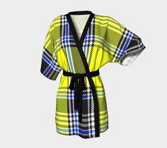 "Kimono+Robe+""TARTAN+9006""+by+THE+GRIFFIN+PASSANT+STREETWEAR"