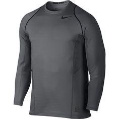 pretty nice 4f8f6 0dd59 Nike Hyperwarm Long-Sleeve Shirt Dark Grey Black Black XL Nike Tops,