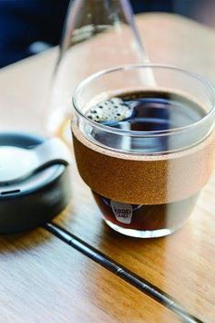 Glass Coffee Cup - Amazon #reusablecoffeecups Glass Coffee Cups, Reusable Coffee Cup, Last Minute Gifts, Christmas Shopping, Panna Cotta, Best Gifts, Amazon, Tableware, Ethnic Recipes