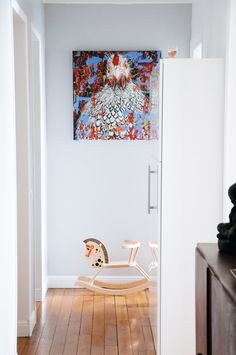 An Eclectic, Happy Apartment in Paris