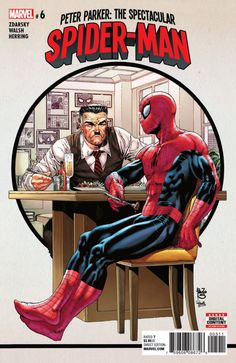 Peter Parker: The Spectacular Spider-Man #6 - My Dinner With Jonah