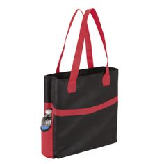 Shopper with Side Pockets