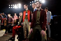 Jonathan Saunders, Gq, London, Concert, Fictional Characters, Image, Collection, Fall Winter 2014, Recital