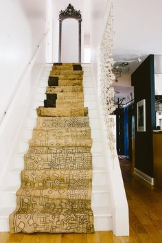 antique stair runner