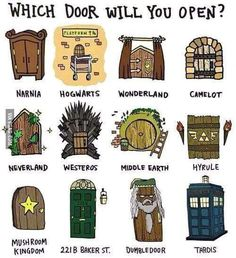 Tardis just think with that you can go to all other doors.