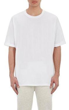 HELMUT LANG Jersey Oversized T-Shirt. #helmutlang #cloth #t-shirt