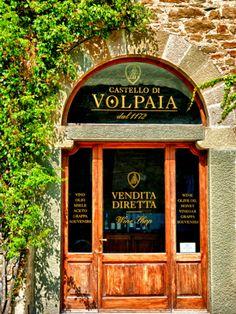 Castello Di Volpaia (winery) in Tuscan Village of Volpaia, Tuscany