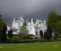 Blair Castle, Scotland with <3 from JDzigner www.jdzigner.com
