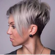 Image result for asymmetrical hairstyles for fine hair