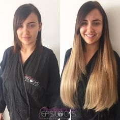Gorgeous Long Hair Extensions By Easilocks. But if your not in Ireland , come to… Easilocks Hair Extensions, Love Hair, New Hair, Hair Beauty, Make Up, Long Hair Styles, Dublin, Ireland, Plush