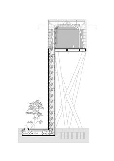 Image 2 of 27 from gallery of Water Tower / V+. Courtesy of V+ Floating Architecture, Water Architecture, Architecture Details, Classical Architecture, Infrastructure Architecture, Brick Arch, Water Storage Tanks, Old Abandoned Houses, Tower Design